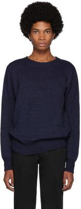 Blue Blue Japan Indigo Dyed Yarn Sweater