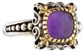 Konstantino Bi-Color Amethyst Ring