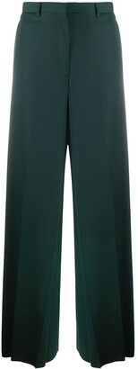 Lanvin High-Waisted Wide Leg Trousers