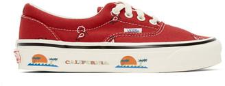Vans Red Bandana OG Era LX Sneakers