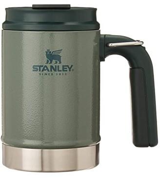 Stanley Accessories 16 oz Classic Big Grip Camp Mug (Hammertone Green) Glassware Cookware