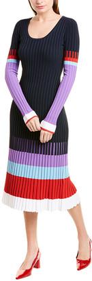 Prabal Gurung Scoop Neck Sweaterdress