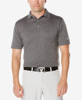 Callaway Men's Big & Tall Heathered Golf Polo