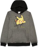 JEM Pokémon Pikachu Pullover Hoodie, Boys (8-20)