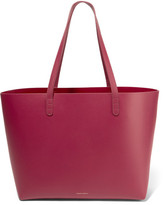 Mansur Gavriel Large Leather Tote - Claret