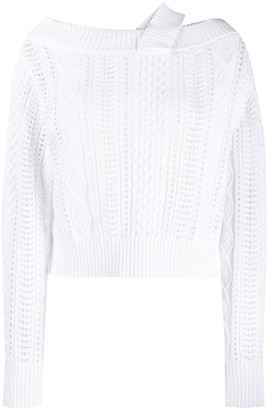 RtA Cable Knit Sweater