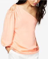 Rachel Roy Soiree One-Shoulder Blouse, Only at Macy's