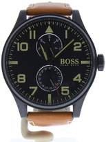 HUGO BOSS Men's 1513082 Brown Leather Quartz Watch