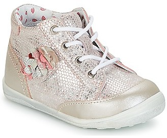 Catimini SOLDANELLE girls's Shoes (High-top Trainers) in Pink