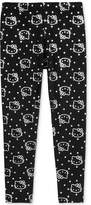 Hello Kitty Metallic-Print Leggings, Little Girls (4-6X)