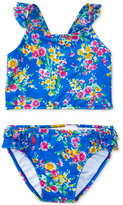 Ralph Lauren Two-Piece Floral-Print Swimsuit, Baby Girls (0-24 months)