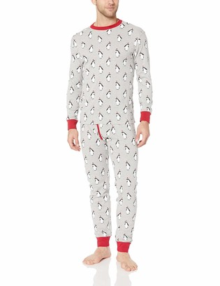 Amazon Essentials Men's Knit Pajama Set