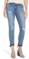 Petite Women's Wit & Wisdom Slim Straight Leg Ankle Jeans