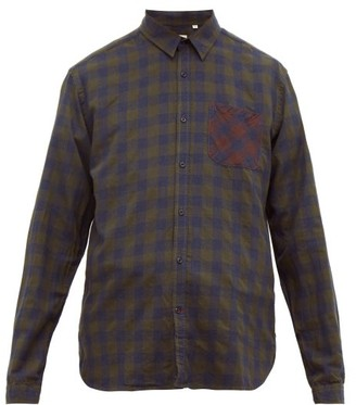 Oliver Spencer New York Special Organic Cotton-blend Shirt - Mens - Green