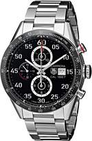 Tag Heuer Men's THCAR2A10BA0799 Carrera Analog Display Swiss Automatic Silver Watch