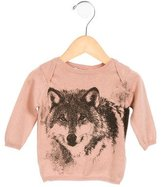 Stella McCartney Girls' Wolf Print Knit Top w/ Tags