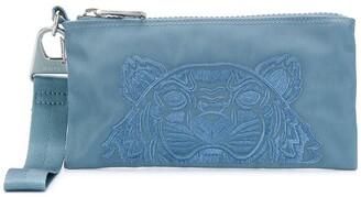 Kenzo Tiger motif wallet