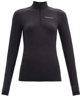 Peak Performance Magic Wool-blend Base-layer Top - Black