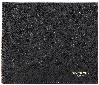 Givenchy Leather Billfold Wallet in Black   FWRD