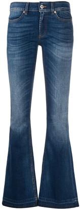 Dondup High Rise Flared Leg Jeans