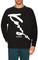 Kenzo Script Cotton Sweatshirt