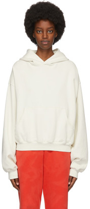 ERL Off-White Logo Hoodie