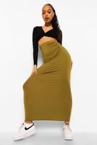 boohoo Helena Basic Jersey Maxi Skirt