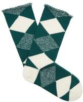 Burberry Argyle-knit wool socks