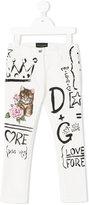 Dolce & Gabbana paint detail jeans