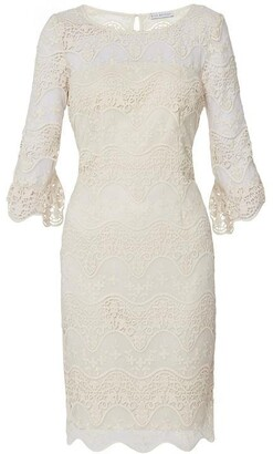 Gina Bacconi Roxani Embroidered Dress