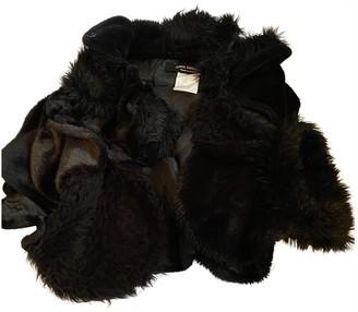 Junya Watanabe Black Faux fur Coats