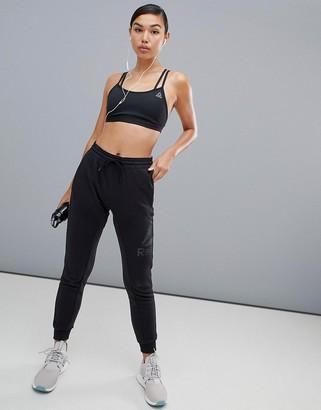 Reebok Slouchy Sweatpants In Black