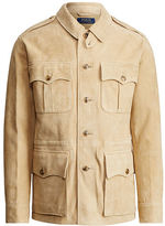 Polo Ralph Lauren Suede Safari Jacket