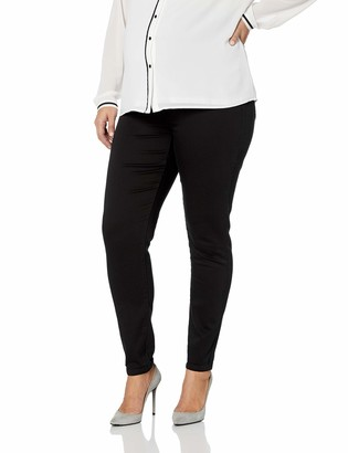 Motherhood Maternity Women's Maternity Plus-Size 5 Pocket Super Soft Secret Fit Belly Skinny Leg Pant