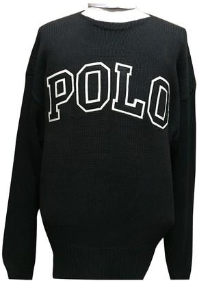 Polo Ralph Lauren Black Cotton Knitwear for Women Vintage