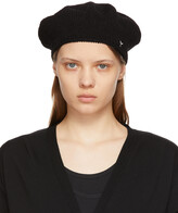 Thumbnail for your product : Y's Black Knit Beret