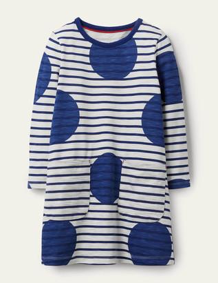 Boden Fun Pocket Jersey Dress