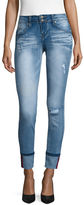 YMI Jeanswear Skinny Cuffed Jeans-Juniors