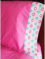 Caden Lane Ikat Pink Full Sheet Set
