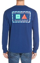 Men's Southern Tide 'Channel Marker' Graphic Pocket Long Sleeve T-Shirt