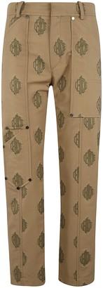 Chloé Logo Motif Trousers
