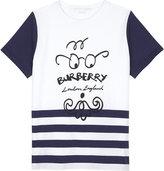 Burberry Beard face cotton T-shirt 4-14 years
