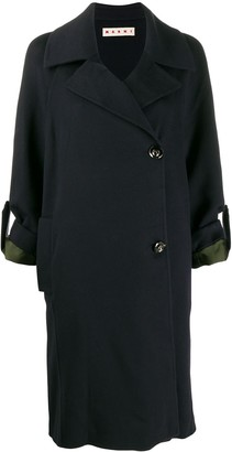 Marni Cropped Sleeve Duster Coat