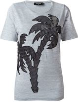 DSQUARED2 palm tree T-shirt