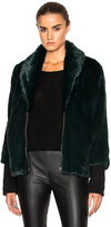 Marissa Webb Aria Faux Fur Coat