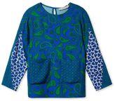 Stella McCartney blue clemency paisley blouse
