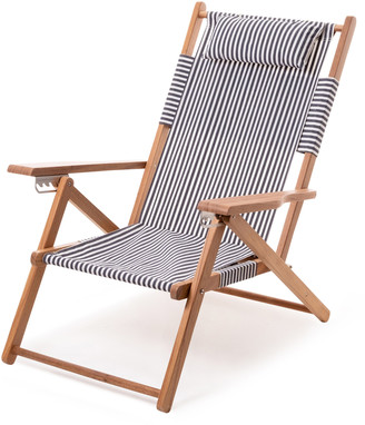 Business & Pleasure Tommy Striped Canvas Beach Chair