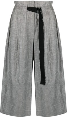 Tela Cropped Palazzo Trousers