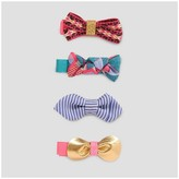 Cat & Jack Girls' 4pk Clips/Barrettes Cat & Jack - Multicolor