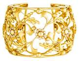 Amrapali 18K Diamond Floral Cut-Out Cuff Bracelet